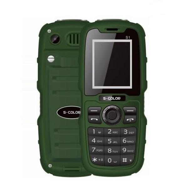 گوشی موبایل زره پوش و ضدآب S-COLOR S1
