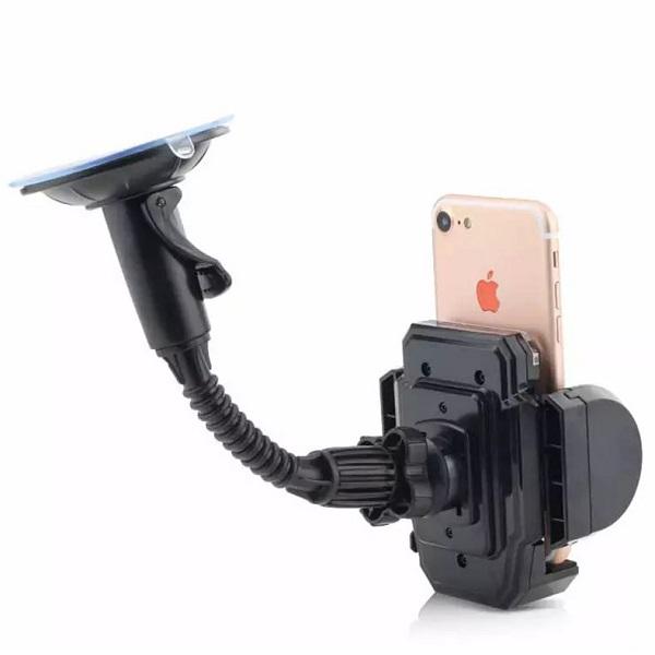 هولدر موبایل فنری مدل رو شیشه ای اتومبیل فلای FLY XP-D