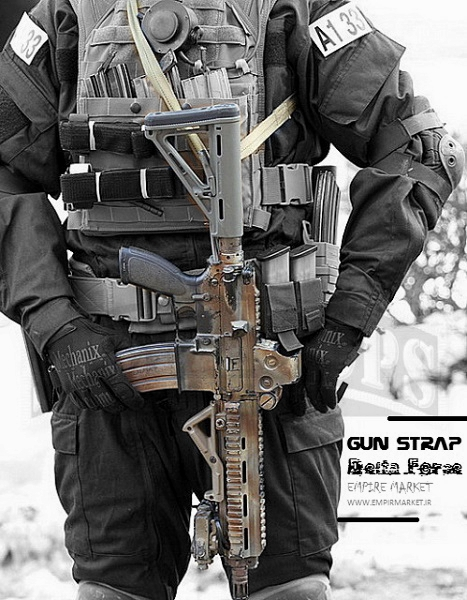 بند اسلحه تاکتیکال آمریکایی دلتا فورس Gun Strap