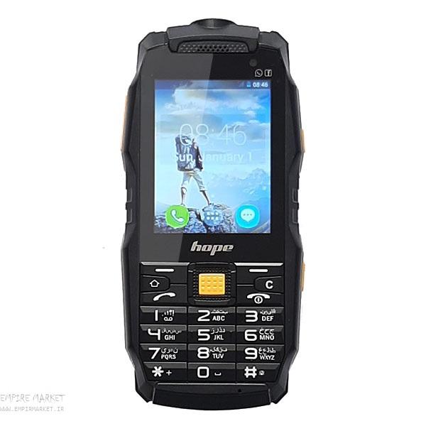 گوشی موبایل هوشمند ضدضربه و ضدآب هوپ HOPE F35 (آندروید)