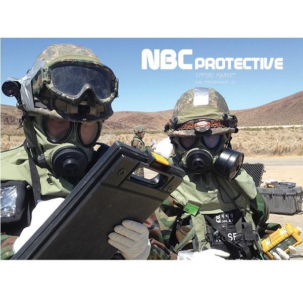 دستکش بهداشتی NBC آمریکایی (دستکش نخی آنتی باکتریال)