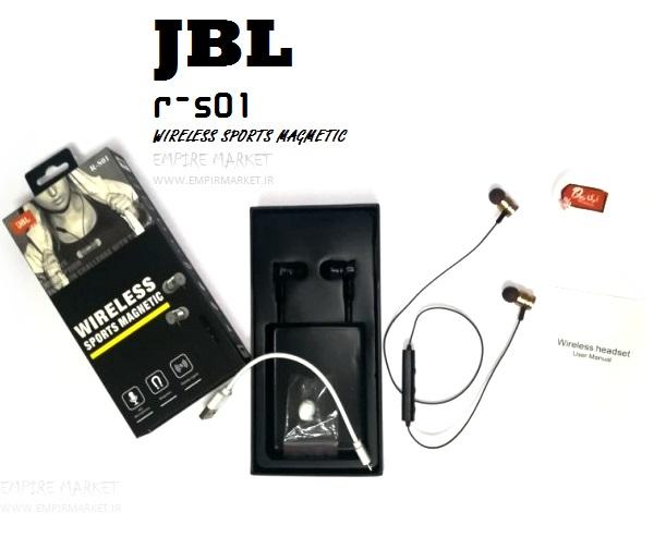 هندزفری بلوتوثی مدل دورگردنی JBL R-S01 (وایرلس)