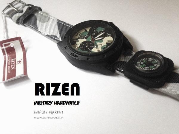 ساعت مچی قطب نما دار چریکی مدل RIZEN
