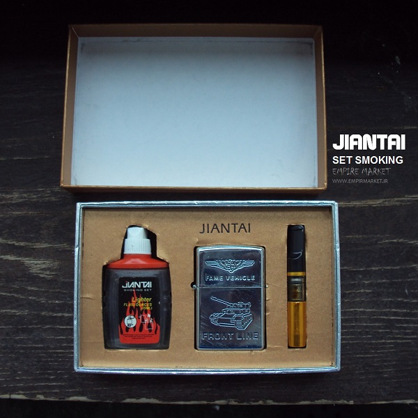 ست فندک بنزینی Jiantai (پک)