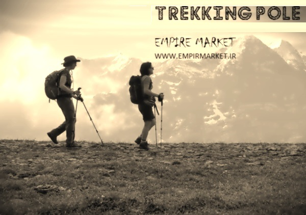 باتوم کوهنوردی تراکینگ تلسکوپی آنتی شوک Trekking