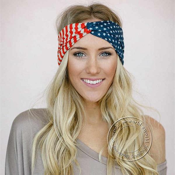 دستمال باندانا طرح پرچم USA (دستمال گردن آمریکایی)