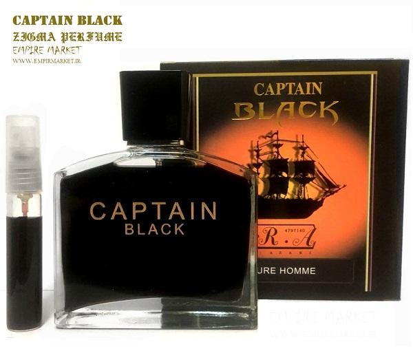 عطر اورجینال زیگما کاپتان بلک Zigma CAPTAIN BLACK (100ml)