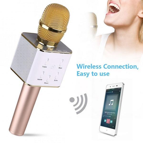 میکروفون اسپیکر دو منظوره مکسیدر MAXEEDER Q7 (بلوتوثی)