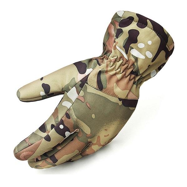 دستکش تکاوری ضدآب استتار چریکی (زمستانی)