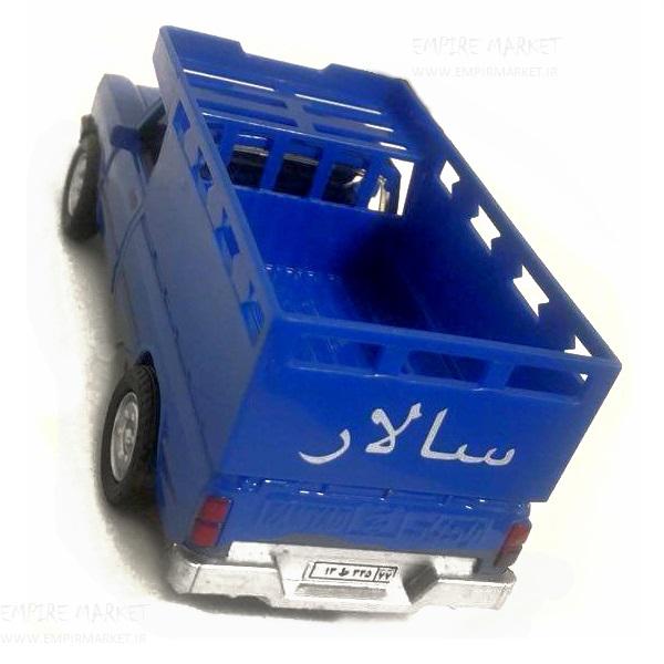 ماکت اتومبیل ایرانی نیسان زامیاد آبی (جونیور)