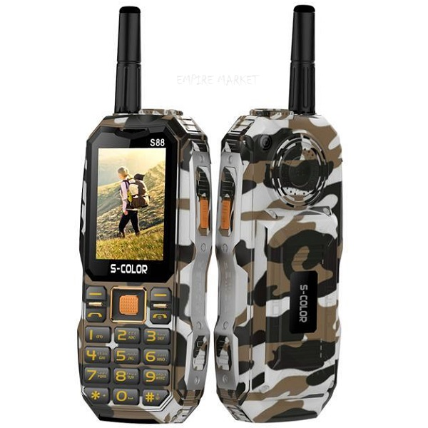 گوشی موبایل زره پوش S-COLOR S88 armor