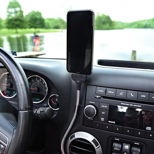 هولدر و شارژر دو منظوره موبایل (ویژه اتومبیل) / BOBINE AUTO