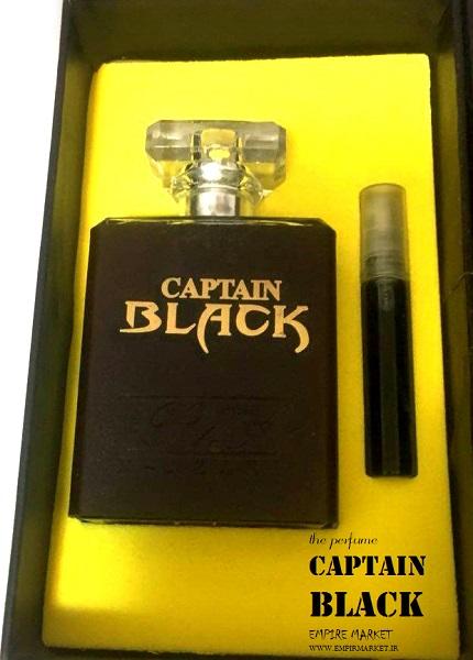 عطر اورجینال مردانه کاپتان بلک Zigma CAPTAIN BLACK (100ml)