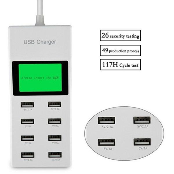 هاب آداپتور USB شارژر 8 پورت سوپر فست دیجیتال
