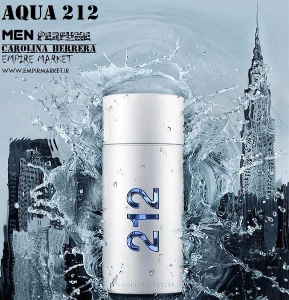 عطر مردانه طرح 212 من AQUA MEN 212 (100m)