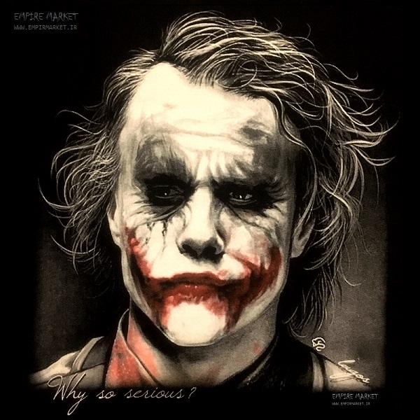 تیشرت سه بعدی طرح جوکر Joker