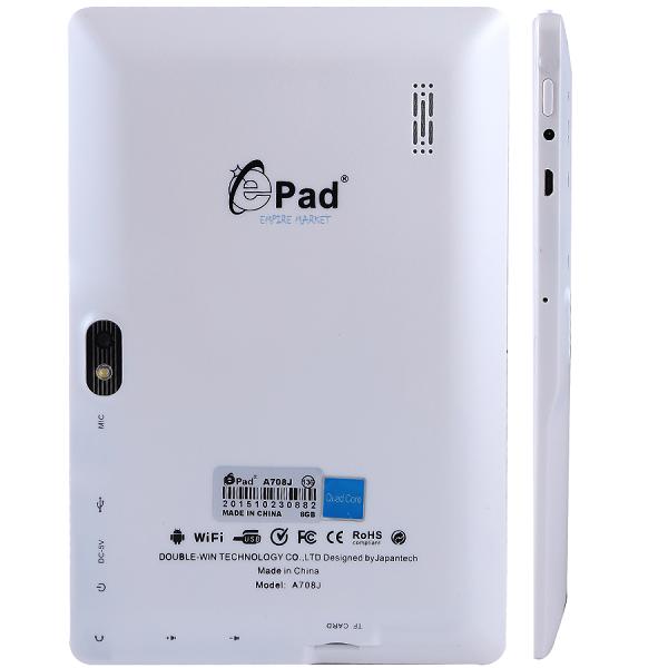 تبلت هوشمند 7 اینچی ای پد e Pad A708