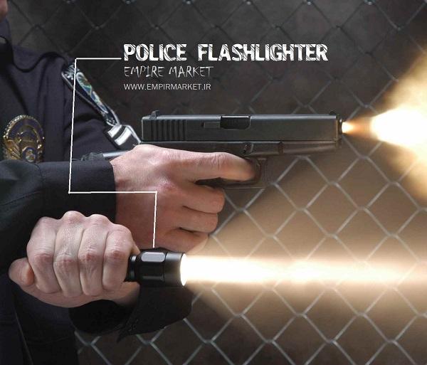 چراغ قوه پلیسی زومیک Police FlashLight