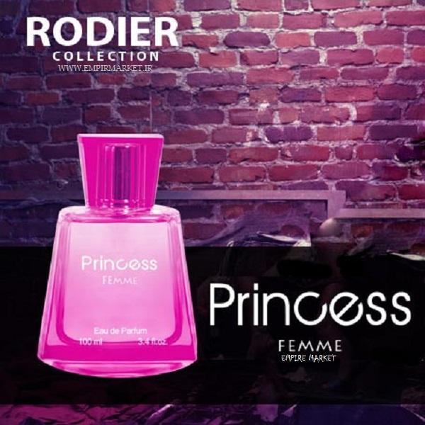 عطر اورجینال زنانه رودیر کالکشن پرنسس Rodier PRINCESS FEMMA (100ml)