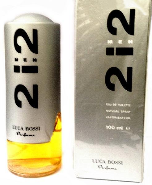 عطر مردانه LUCA BOSSI 2i2 (100ml)