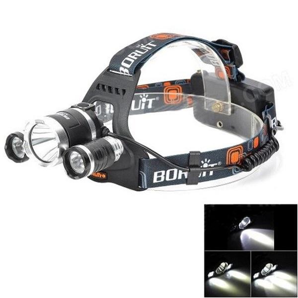 هدلامپ شارژی سه چراغ حرفه ای RL-2800