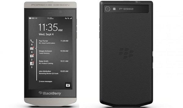 موبایل هوشمند بلک بری پورشه BLACKBERRY PORSCHE design 9982