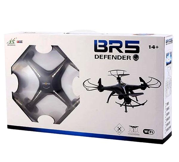 کوادکوپتر کنترلی سنسور دار چهارموتوره BR5 DEFENDER
