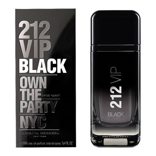 عطر مردانه طرح وی آی پی 212 VIP BLACK