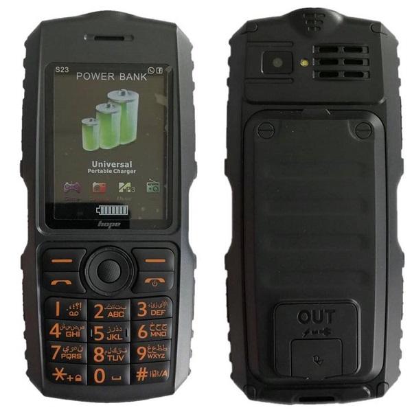 گوشی موبایل زره پوش و ضدآب هوپ HOPE S23