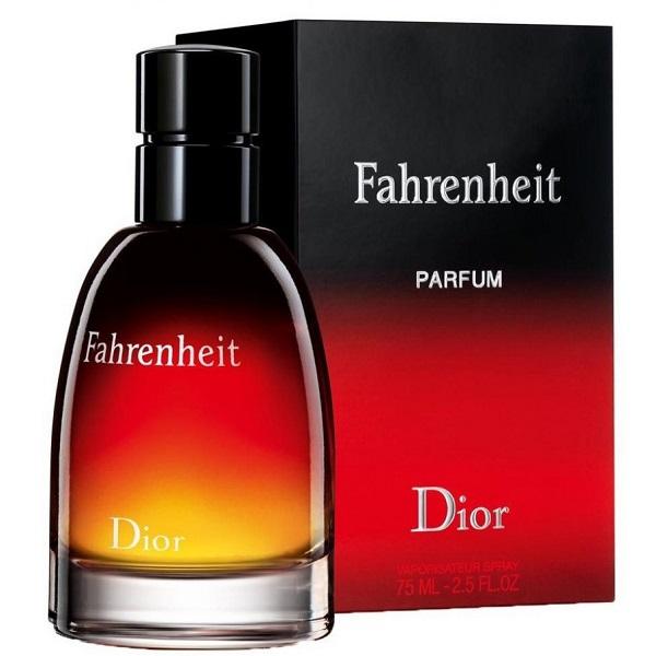 عطر مردانه طرح فارنهایت دیور FAHRENHEIT DIOR(75m)