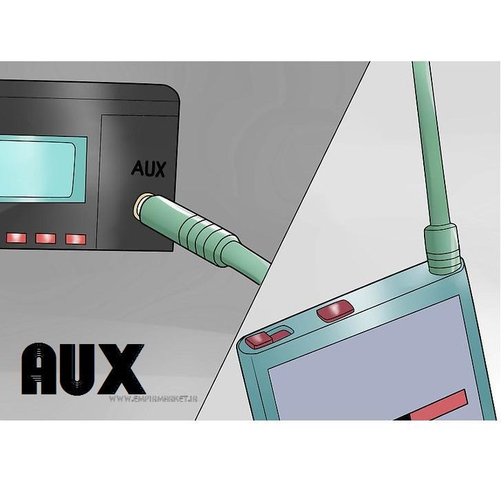 کابل AUX فلزی (جک 3.5 میلی متری استریو)