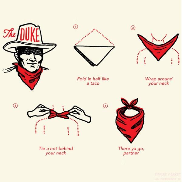 دستمال باندانا طرح MARIJUANA (دستمال گردن آمریکایی)