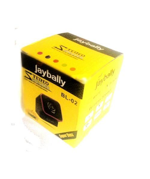 مینی اسپیکر بلوتوثی JayBally BL-02 (دارای ساب)