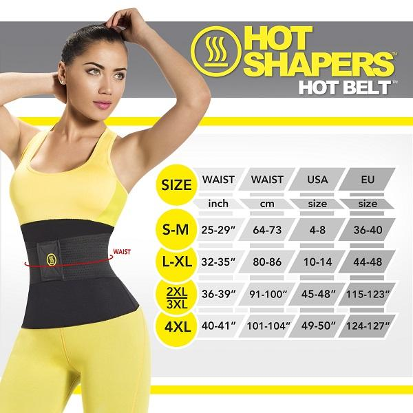 شکم بند لاغری هات بلت نئوتکس (چسبدار) / HOT SHAPERS POWER