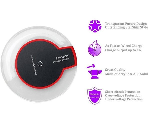 شارژر وایرلس بیسیم FANTASY wireless charger
