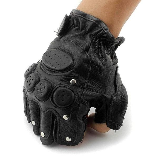 دستکش چرم نیم انگشتی تاکتیکال (مولتی گارد)