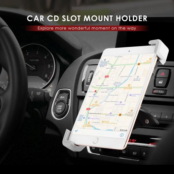 هولدر تبلت رو شیشه ای اتومبیل یونیورسال (پایه نگهدارنده)