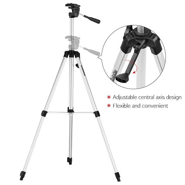 سه پایه دوربین ویفنگ 330A حرفه ای (تراز دار)