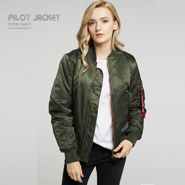 کاپشن خلبانی آمریکایی Pilot Jacket