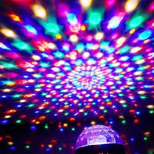 دستگاه رقص نور LED کروی برقی (قابلیت پخش موزیک) |