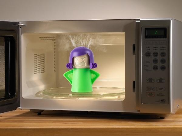 بخارشو و تمیز کننده سیلیکونی فر و مایکروویو Angry mama