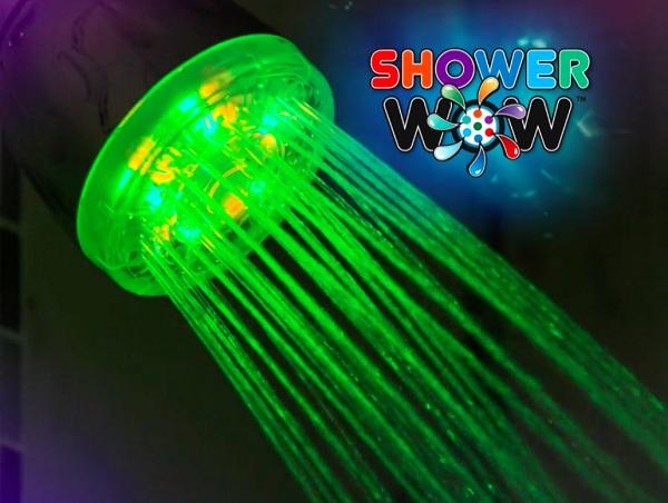 سردوش حمام نورپرداز هوشمند (چراغ LED) |