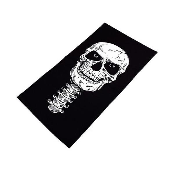 اسکارف تاکتیکال طرح نقاب اسکلت (دستمال سر)
