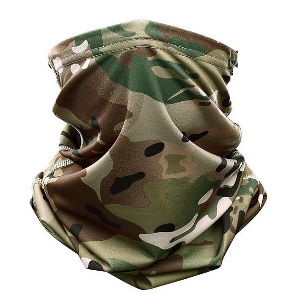 اسکارف تاکتیکال طرح استتار چریکی و شکاری (دستمال سر)