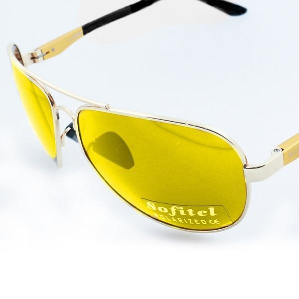 عینک آفتابی فریم فلزی گلد سوفیتل SOFITEL gold