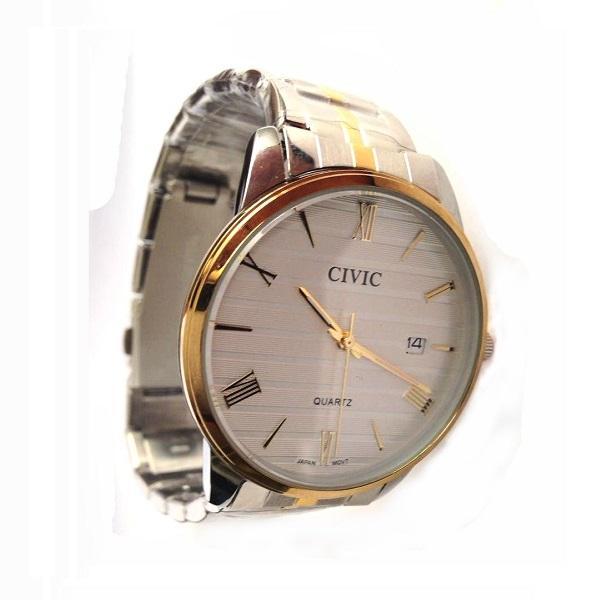 ساعت مچی بند سیلور نقره ای مردانه سیویک CIVIC (ساخت ژاپن)