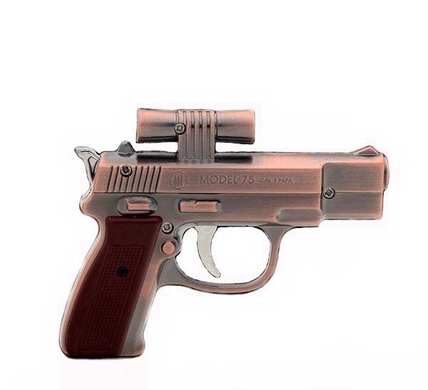 فندک طرح اسلحه کلت برونینگ لیزری فانتزی Gun Lighter