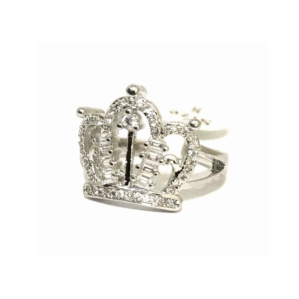 انگشتر زنانه سیلور طرح ملکه QUEEN