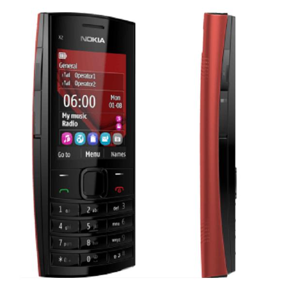 گوشی موبایل نوکیا odscn x2-02 (طرح)