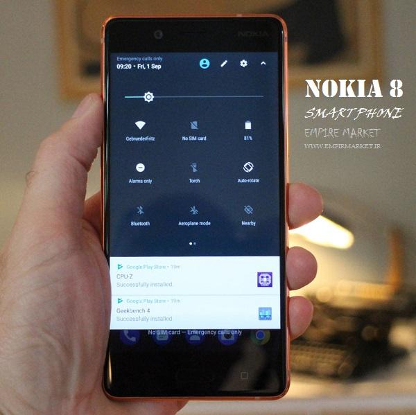 موبایل هوشمند نوکیا 8 NOKIA